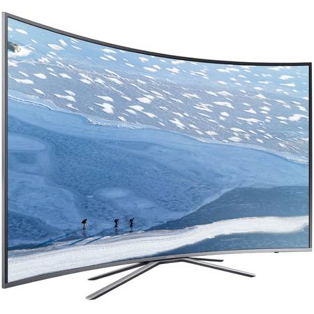 Televizor LED Curbat Smart Samsung 49KU6502 , 123 cm, 4K Ultra HD