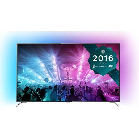 Televizor LED Philips 65PUS7101/12, Smart Android , 164 cm,  4K Ultra HD