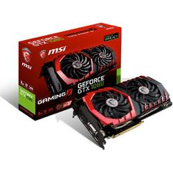 Placa video MSI NVIDIA GeForce GTX 1080 GAMING X 8G, PCI-E, 8192MB GDDR5X , 256bit, DVI, HDMI, 3xDisplay Port, FAN