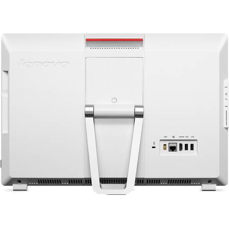 "Sistem Desktop All-In-One Lenovo ThinkCentre S200Z, 19.5"" HD+, Procesor Intel Celeron N3050 1.6GHz Braswell, 4GB, 500GB, GMA HD, FreeDos, White, Frame Stand"
