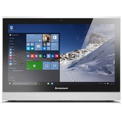 "Sistem Desktop All-In-One Lenovo S400Z, 21.5"" FHD, Procesor Intel Core i3-6100U 2.3GHz Skylake, 4GB, 1TB + 8GB SSH, GMA HD 520, Win 7 Pro + Win 10 Pro, White, Monitor Stand"