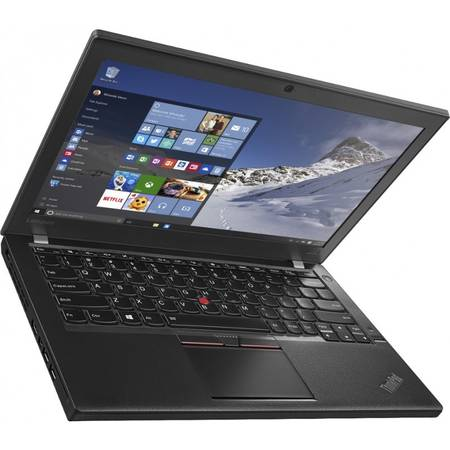 Ultrabook Lenovo ThinkPad X260, 12.5'' HD IPS, Intel Core i5-6200U, up to 2.80 GHz, 8GB, 256GB SSD, GMA HD 520, FingerPrint Reader, Win 7 Pro + Win 10 Pro
