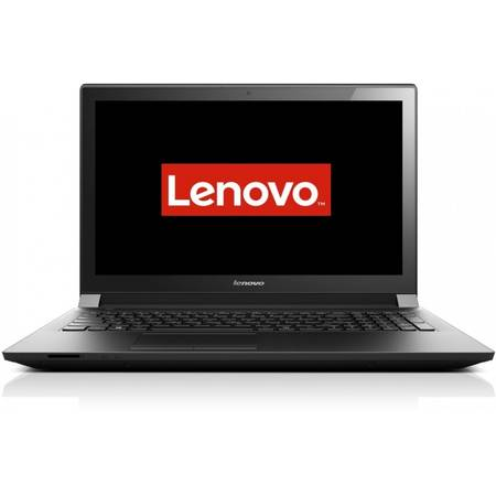 Laptop Lenovo B51-80, 15.6'' HD, Intel Core i5-6200U, up to 2.80 GHz, 4GB, 500GB + 8GB SSH, Radeon R5 M330 2GB, FingerPrint Reader, FreeDos, Black
