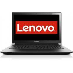 Laptop Lenovo B51-30, 15.6'' HD, Intel Celeron N3050, up to 2.16 GHz, 4GB, 500GB + 8GB SSH, GMA HD, FingerPrint Reader, Win 10 Home, Black