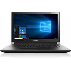 Laptop Lenovo B51-80, 15.6'' FHD, Procesor Intel Core i5-6200U, up to 2.80 GHz, 4GB, 500GB + 8GB SSH, GMA HD 520, FingerPrint Reader, Win 10 Pro, Black