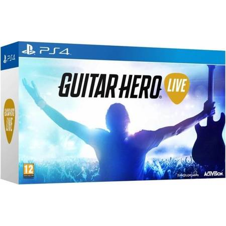 Sony Guitar Hero Live Bundle Joc + Chitara - PS4