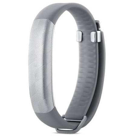 Bratara Fitness JAWBONE UP2 Light Grey Hex classic flat strap