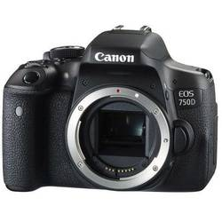 Aparat foto DSLR Canon EOS 750D BK, 24.2MP, Body