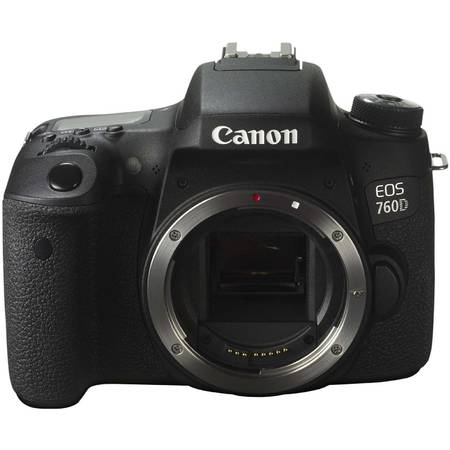 Aparat foto DSLR Canon EOS 760D BK, 24.2MP, Body