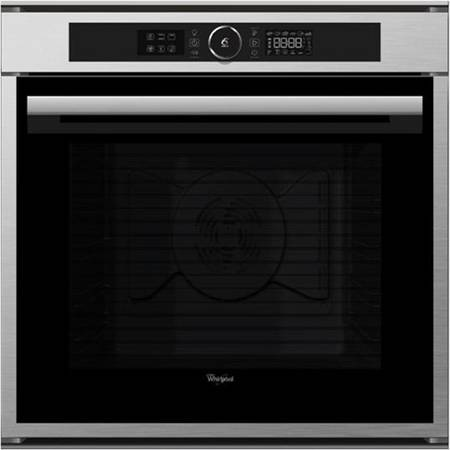 Cuptor incorporabil Whirlpool Absolute Gallery AKZM 8660 IX, Electric, 6th Sense, Multifunctional, 73 l, 16 functii, Piroliza, Clasa A+, Inox antiamprenta