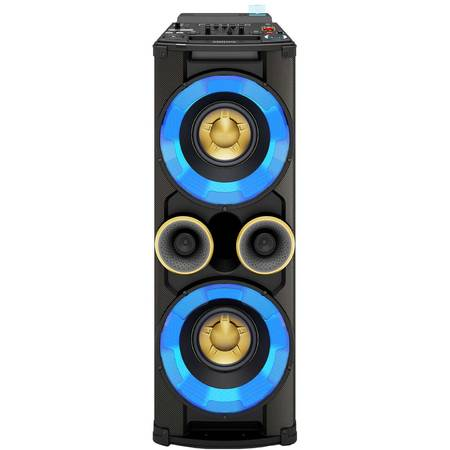 Sistem audio PHILIPS NTRX500/10, 650W, Bluetooth, USB, Iluminare LED