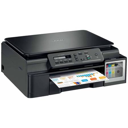 Multifunctional inkjet Brother DCPT500WYJ1 CISS, A4, USB, Wi-Fi