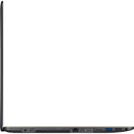 "Laptop ASUS 15.6"" X550VX, HD, Intel Core i5-6300HQ (6M Cache, up to 3.20 GHz), 4GB, 1TB, GeForce GTX 950M 2GB, FreeDos, Dark Grey"