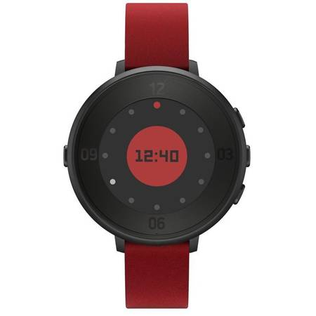 Smartwatch Pebble Time Round, rosu