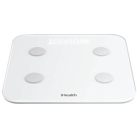 IHEALTH Core Wireless Cantar Fitness Alb