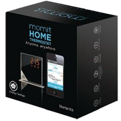 Termostat Inteligent Momit Starter Kit Pure, Negru