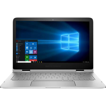 "Laptop 2-in-1 HP 13.3"" Spectre Pro x360 G2, QHD Touch, Intel Core i5-6200U (3M Cache, up to 2.80 GHz), 8GB, 256GB SSD, GMA HD 520, Win 10 Pro, Silver"