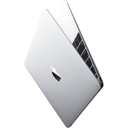 "Laptop Apple MacBook, 12"", Skylake Core M 1.2GHz, 8GB, 512GB SSD, GMA HD 515, Mac OS X El Capitan, INT keyboard, Silver"