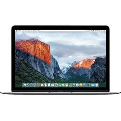 Laptop Apple MacBook, 12'', Skylake Core M 1.1GHz, 8GB, 256GB SSD, GMA HD 515, Mac OS X El Capitan, INT keyboard, Space Gray