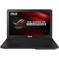 Laptop ASUS ROG G771JW, 17.3'' FHD, Intel Core i7-4720HQ (6M Cache, up to 3.60 GHz), 8GB, 1TB + 128GB SSD, GeForce GTX 960M 2GB, Win 10 Home, Black