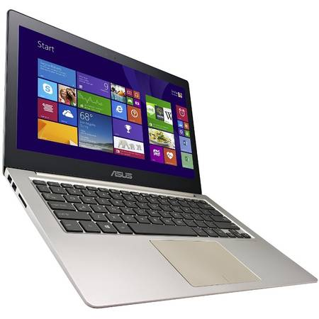 Ultrabook ASUS Zenbook UX303UA, 13.3'' FHD, Intel Core i5-6200U (3M Cache, up to 2.80 GHz), 8GB, 128GB SSD, GMA HD 520, Win 10 Home, Brown