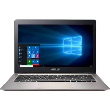 Ultrabook ASUS Zenbook UX303UA, 13.3'' FHD, Intel Core i3-6100U (3M Cache, 2.30 GHz), 4GB, 1TB, GMA HD 520, Win 10 Home, Brown