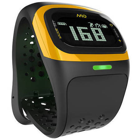 Bratara Fitness Mio Alpha 2 Heart Rate Monitor Galben