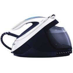 Philips Statie de calcat Perfect Care Elite GC9622/20, Talpa T-ionicGlide, 2400 W, 1.8 l, 400 g/min, Albastru/Argintiu