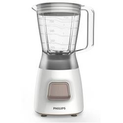 Philips Blender Daily Collection HR2052/00, 350 W, 1.25 l, 1 viteza, Pulse, alb