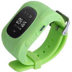 Smartwatch Star City Waterproof Silicon Cu GPS Verde