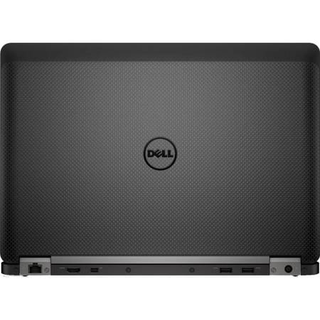 "Laptop Dell Latitude E7470, 14.0"" FHD, Intel Core i7-6600U (Dual Core, 2.6GHz, 4MB cache), 8GB (1x8GB) 2133MHz, SSD 512GB, Windows 7/Windows 10 Pro 64bit"