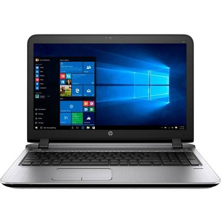 Laptop HP Probook 450 G3, 15.6'', FHD, Intel Core i5-6200U (3M Cache, up to 2.80 GHz), 8GB, 256GB SSD, GMA HD 520, Fingerprint Reader, Win 7 Pro + Win 10 Pro