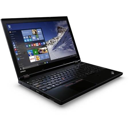 Laptop Lenovo ThinkPad L560, 15.6'', Intel Core i5-6200U, 4GB, 192GB SSD, GMA HD 520, FingerPrint Reader, Win 7 Pro + Win 10 Pro, Black