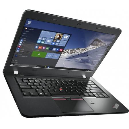 "Laptop Lenovo ThinkPad E460, 14"", FHD IPS, Intel Core i7-6500U, 8GB, 1TB, Radeon R7 M360 2GB, Fingerprint Reader, Win 10 Pro, Graphite Black"