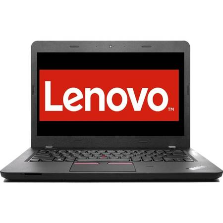"Laptop Lenovo ThinkPad E460, 14"", Intel Core i3-6100U, 4GB, 500GB, GMA HD 520, FreeDos, Graphite Black"