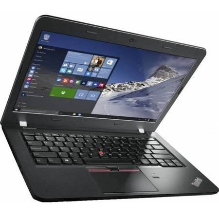 "Laptop Lenovo ThinkPad E460, 14"", Intel Core i5-6200U, 8GB, 192GB SSD, Radeon R7 M360 2GB, Win 10 Pro, Graphite Black"