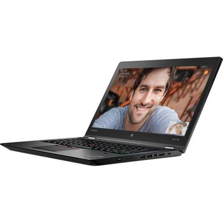 Laptop Lenovo ThinkPad Yoga 460 14'', FHD IPS Touch, Intel Core i7-6500U, 16GB, 240GB SSD, GMA HD 520, Win 10 Pro, Black