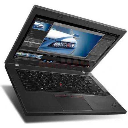 Laptop Lenovo ThinkPad L460 14'', FHD IPS, Intel Core i3-6100U, 8GB, 128GB SSD, GMA HD 520, Win 10 Pro, Black