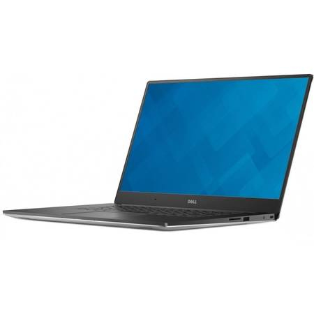 Laptop Dell Precision 5510 15.6'', FHD IPS, Intel Core i5-6300HQ (6M Cache, up to 3.20 GHz), 16GB, 256GB SSD, Quadro M1000M 2GB, Linux