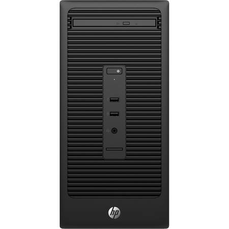 Sistem Desktop HP 280 G2 Minitower, Intel Pentium G4400 (3.3G, 3M),  Intel HD Graphics, RAM 4GB DDR4-2133 DIMM, 500GB, Universal USB Wired W8 Keyboard, HP USB Mouse, Sursa 180W, Windows 10 Pro 64-bit