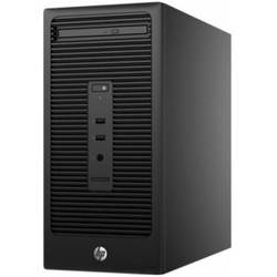 Sistem Desktop HP 280 G2 Minitower, Intel Core i3-6100 (3.7G, 3M),  Intel HD Graphics, RAM 4GB DDR4-2133 DIMM, 500GB, Wired W8 Keyboard, HP USB Mouse, Sursa 180W, Windows 10 Pro / Win 7 Pro 64-bit
