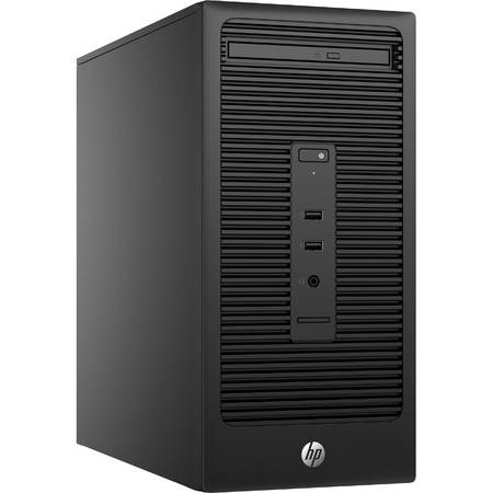 Sistem Desktop HP 280 G2 Minitower, Intel Celeron G3900, 4GB DDR4-2133 DIMM, 500GB, DVD+/- RW,FreeDOS