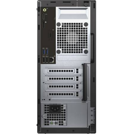 Sistem Desktop Dell OptiPlex 3040 MT, Intel Core i5-6500 Procesor, 4GB 1600MHz DDR3L, 500GB Windows 7 Pro (64Bit Windows 10 License, Media) English