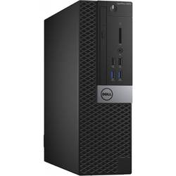 Sistem desktop DELL OptiPlex 3040 MT, Intel Core i3-6100 3.7GHz , 4GB DDR3, 500GB HDD, GMA HD 530, Linux