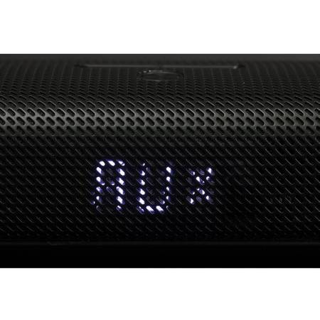Sistem audio 2.1 KitSound Encore Soundbar cu bluetooth si subwoofer wireless, KSENCBK Negru