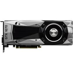 Placa video Zotac GTX 1070 Founders Edition, ZT-P10700A-10P, 8GB GDDR5, 256 bit, 1683 MHz, 1506 MHz