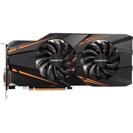 Placa video GIGABYTE GeForce GTX 1070 Windforce OC 8GB DDR5 256-bit