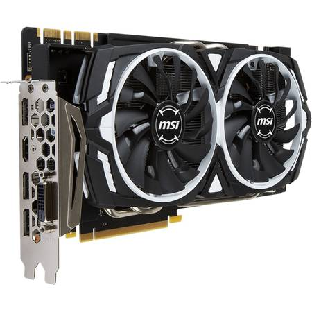 Placa video MSI NVIDIA GeForce GTX 1080 ARMOR 8G OC, PCI-Ex16, 8192MB GDDR5X , 256bit