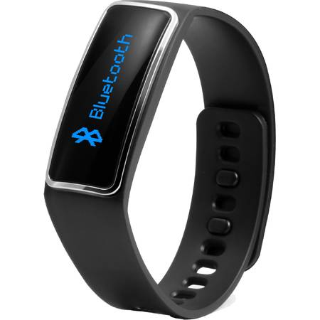 Bratara fitness Technaxx TX-39, Bluetooth 4.0, Negru