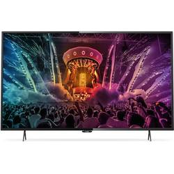 Televizor LED Smart Ultra HD, 108cm, PHILIPS 43PUH6101/88